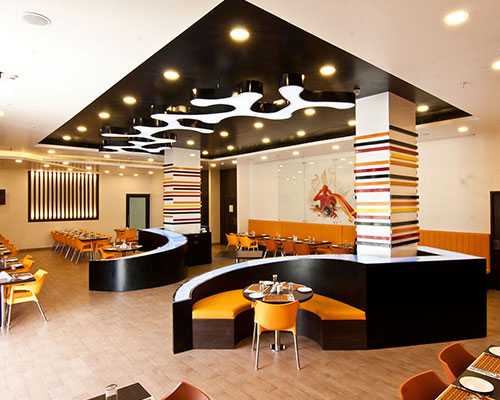 Curry House - Stretch Ceiling  Translucent with Backlighting in hospitality - Hospitality - Chennai